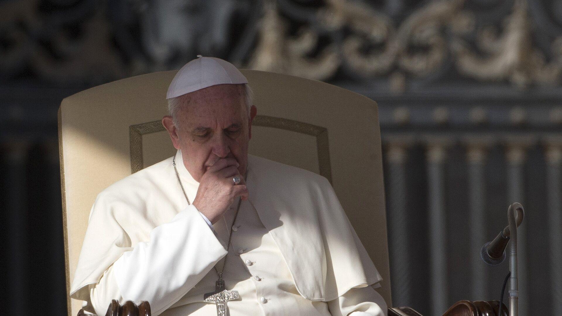 Con toma de posición, el papa Francisco creó una comisión especial para que le informe sobre las actividades reales del controvertido Instituto para las Obras de Religión (IOR). - Sputnik Mundo, 1920, 04.05.2021