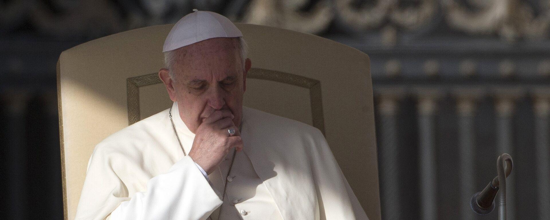Con toma de posición, el papa Francisco creó una comisión especial para que le informe sobre las actividades reales del controvertido Instituto para las Obras de Religión (IOR). - Sputnik Mundo, 1920, 09.08.2021