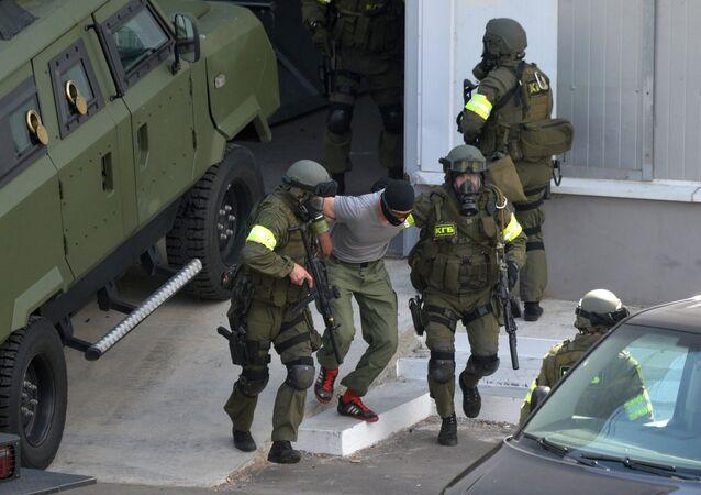 La KGB de Bielorrusia (imagen referencial)