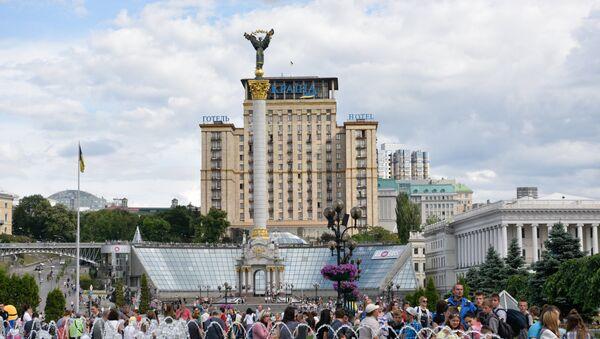 La plaza de la Independencia (Maidán) de Kiev - Sputnik Mundo