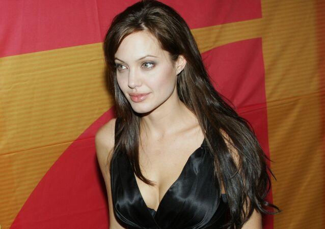 Angelina Jolie, actriz estadounidense (archivo)