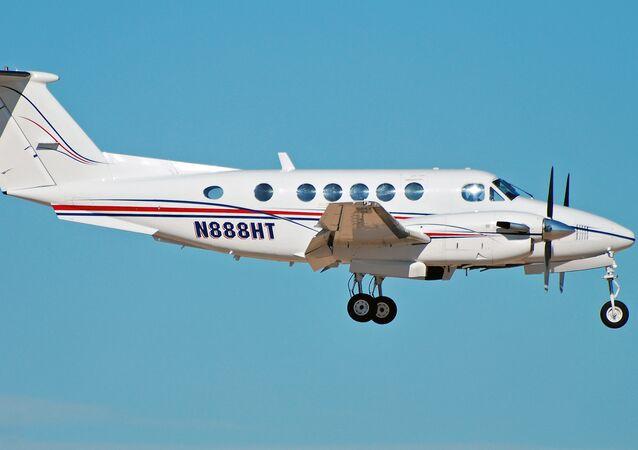 Un avión de patrulla marítima Beechcraft 200 Super King