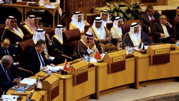 La reunión de la Liga Árabe - Sputnik Mundo