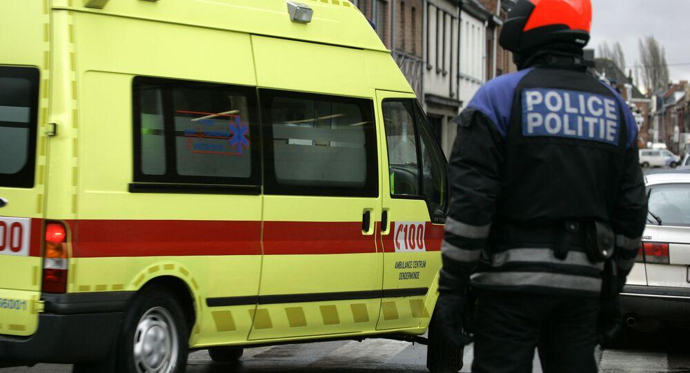 La ambulancia belga (archivo)