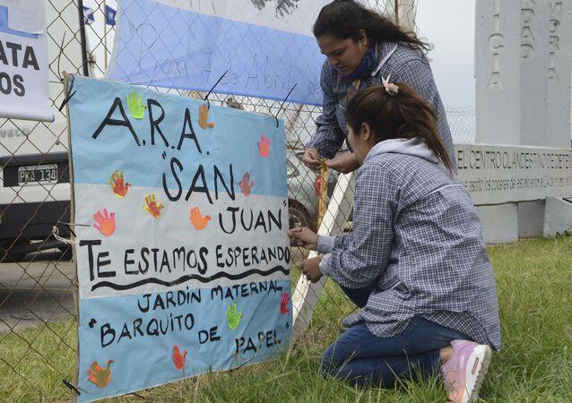 Desaparición del submarino San Juan en Argentina