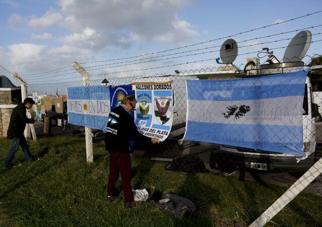 Desaparición del submarino San Juan en Argentina (archivo)