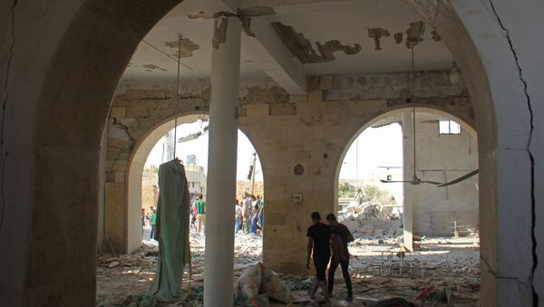 Situación en Idlib, Siria (archivo) - Sputnik Mundo