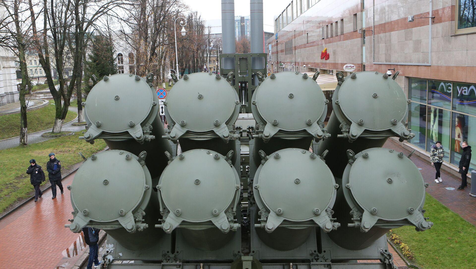 La batería móvil de defensa costera 3K60 Bal (archivo) - Sputnik Mundo, 1920, 04.02.2021