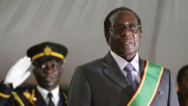 Robert Mugabe, el presidente de Zimbabue - Sputnik Mundo