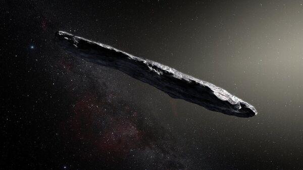 El asteroide Oumuamua - Sputnik Mundo
