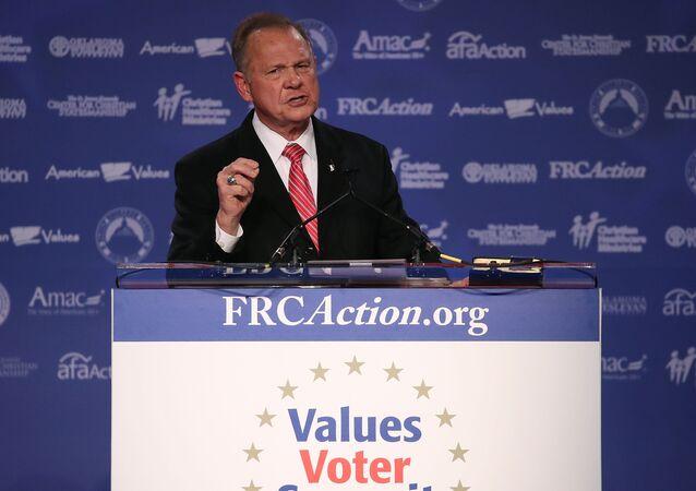 Roy Moore, candidato republicano al Senado