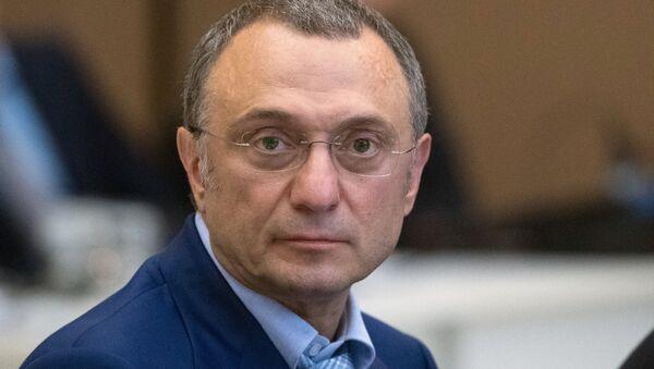 Suleimán Kerímov, el senador del Consejo de la Federación - Sputnik Mundo