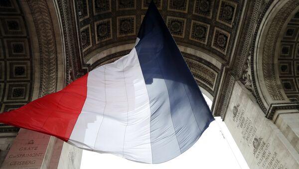 Bandera de Francia - Sputnik Mundo