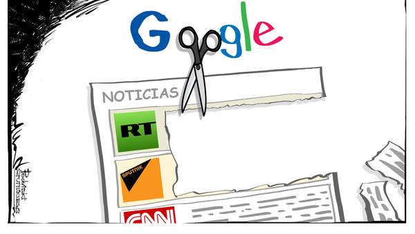 Sputnik, fuente de información 'non grata' en las noticias de Google - Sputnik Mundo