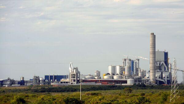 Planta de celulosa de UMP en Uruguay - Sputnik Mundo