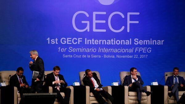 Los participantes del IV Foro de Países Exportadores de Gas en Bolivia - Sputnik Mundo