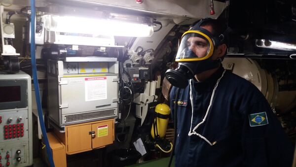 La Marina de Brasil durante la búsqueda del ARA San Juan - Sputnik Mundo