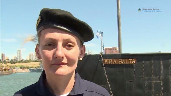Eliana Krawczyk, la primera mujer submarinista de América del Sur - Sputnik Mundo