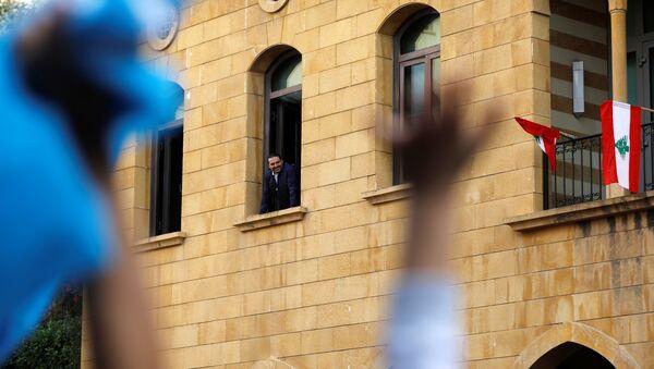 Saad Hariri, primer ministro del Líbano, en su casa en Líbano - Sputnik Mundo