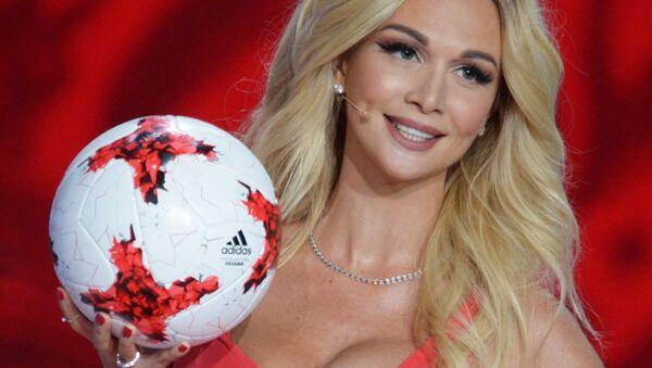 Victoria Lopyreva, Miss Rusia 2003 y embajadora del Mundial de Rusia 2018 - Sputnik Mundo