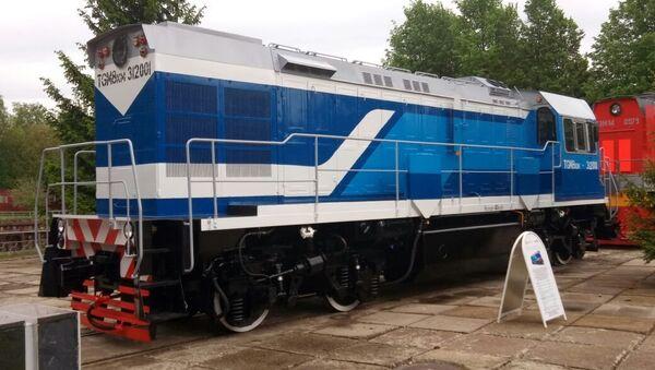 Locomotora rusa TGM8KM - Sputnik Mundo