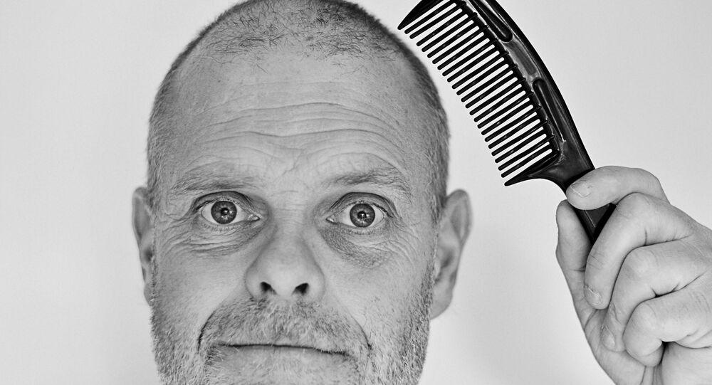 Un hombre con poco pelo (imagen ilustrativa)
