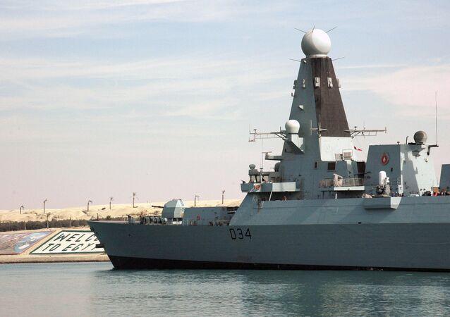 HMS Diamond, destructor de la Marina Real británica