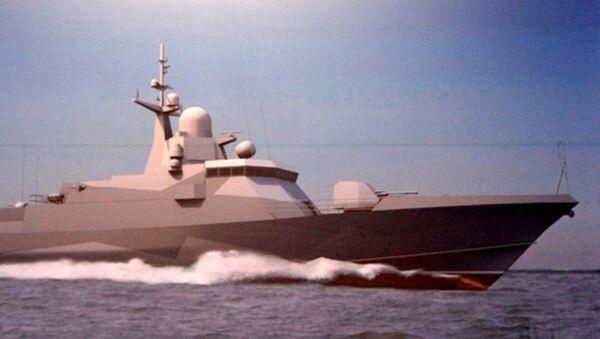 Diseño del buque de misiles pequeño del proyecto 22800 - Sputnik Mundo