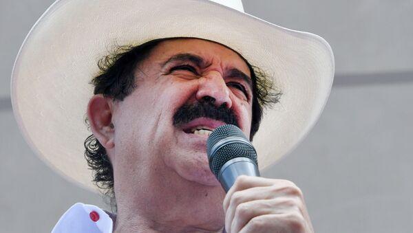 Manuel Zelaya, ex presidente de Honduras - Sputnik Mundo