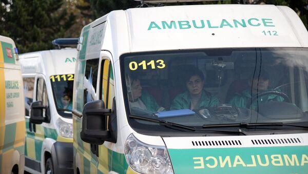 Ambulancia en Georgia - Sputnik Mundo
