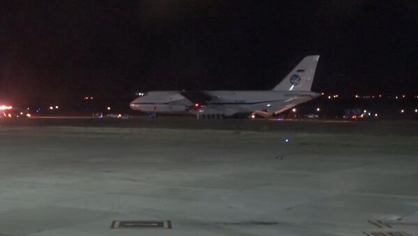 Rusia echa una mano: el An-124, listo para participar en la búsqueda del submarino - Sputnik Mundo