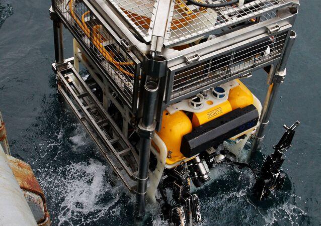 Pantera Plus, aparato submarino de búsqueda y rescate bajo el agua