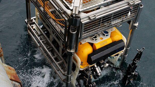 Pantera Plus, aparato submarino de búsqueda y rescate bajo el agua - Sputnik Mundo
