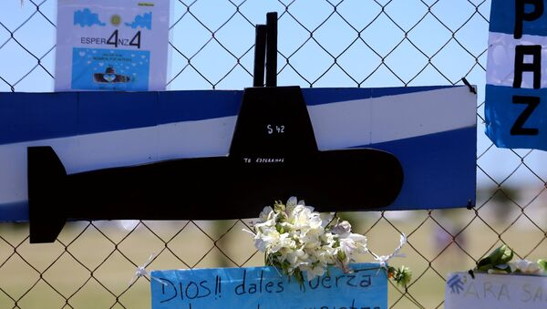 Busqueda del submarino argentino ARA San Juan - Sputnik Mundo