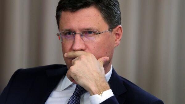 Alexandr Nóvak, ministro ruso de Energía - Sputnik Mundo