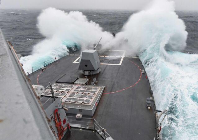 El destructor USS James Williams