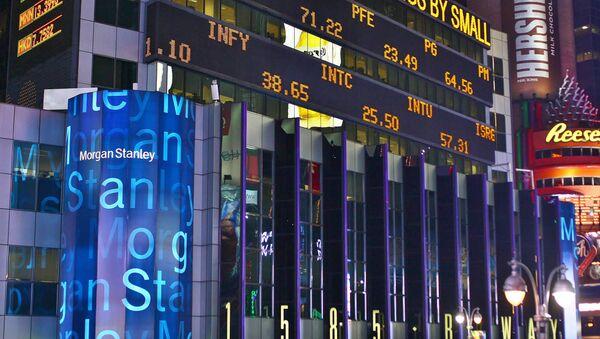 Edificio del banco Morgan Stanley - Sputnik Mundo