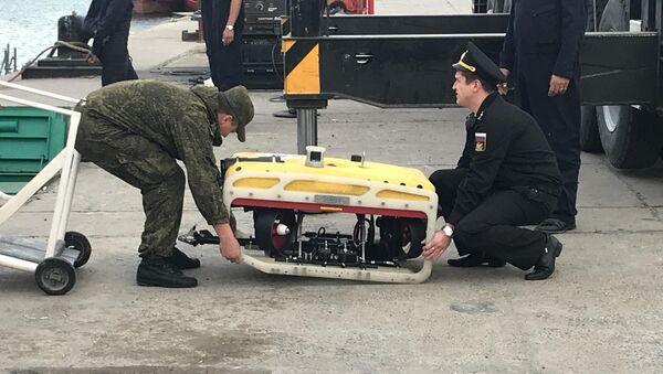 Pantera Plus, aparato submarino de búsqueda y rescate bajo el agua (archivo) - Sputnik Mundo