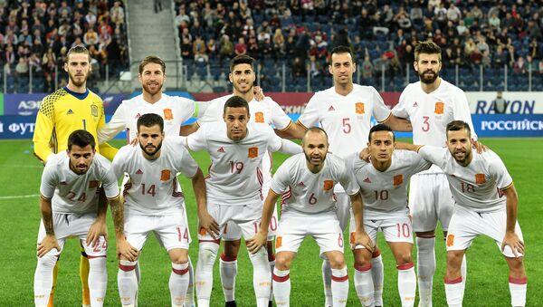 La selección de España, el 14 de noviembre de 2017 - Sputnik Mundo