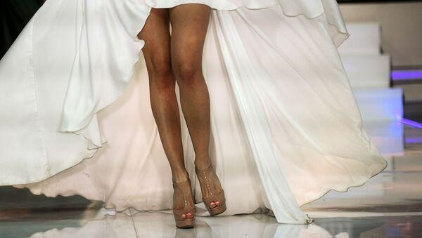 Duelo de bellezas en el certamen Miss Moscú - Sputnik Mundo
