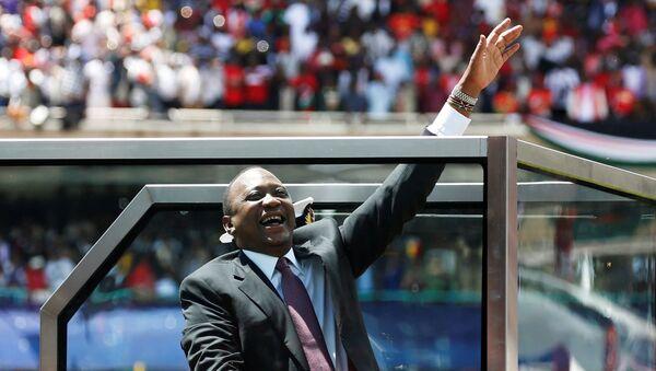 Uhuru Kenyatta, el presidente de Kenia - Sputnik Mundo