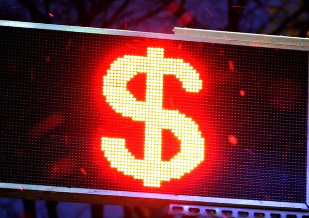 Signo del dólar de EEUU
