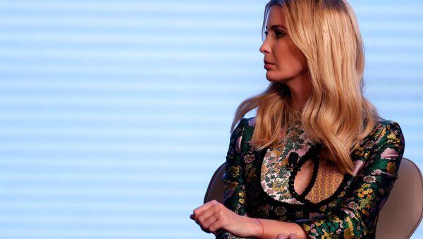 Ivanka Trump durante la Cumbre Internacional de Empresarios (GES) en Hyderabad, la India - Sputnik Mundo