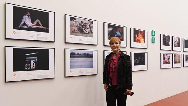 Exposición de las obras ganadoras del Tercer Concurso Internacional de Fotoperiodismo Andréi Stenin en el Centro de la Imagen de México (archivo) - Sputnik Mundo