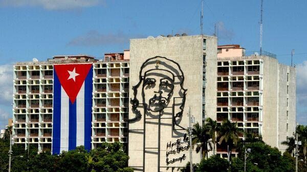Bandera cubana en la Habana, la capital de Cuba - Sputnik Mundo