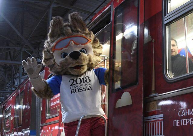 El Mundial de Rusia 2018 ya se deja notar en el Metro de Moscú
