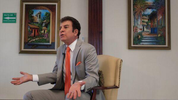 El líder de la Alianza de Oposición de Honduras, Salvador Nasralla - Sputnik Mundo