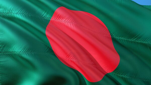 La bandera de Bangladés - Sputnik Mundo
