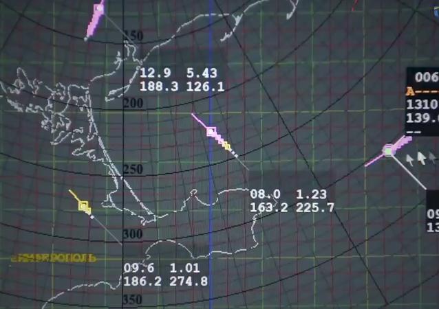 Imágenes generadas por el radar ucraniano 80K6T