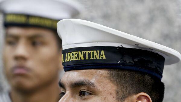 Miembros de la Armada de Argentina - Sputnik Mundo